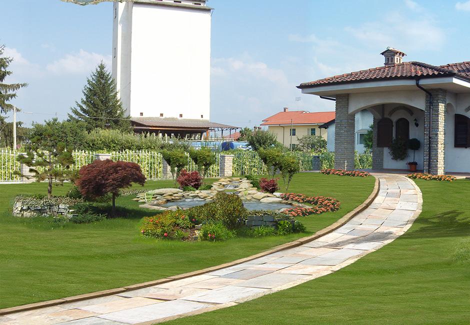 E parchi e giardini with progetti giardini - Progetti di giardini piccoli ...