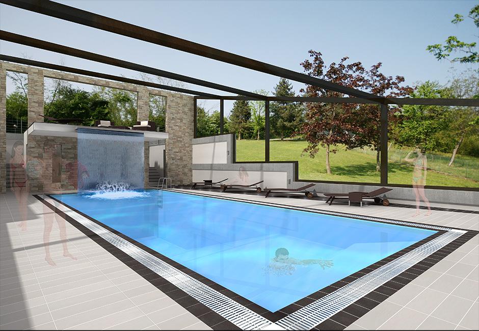 Rendering virtuali piscine with progetti piscine - Piscine interrate prezzi chiavi in mano ...